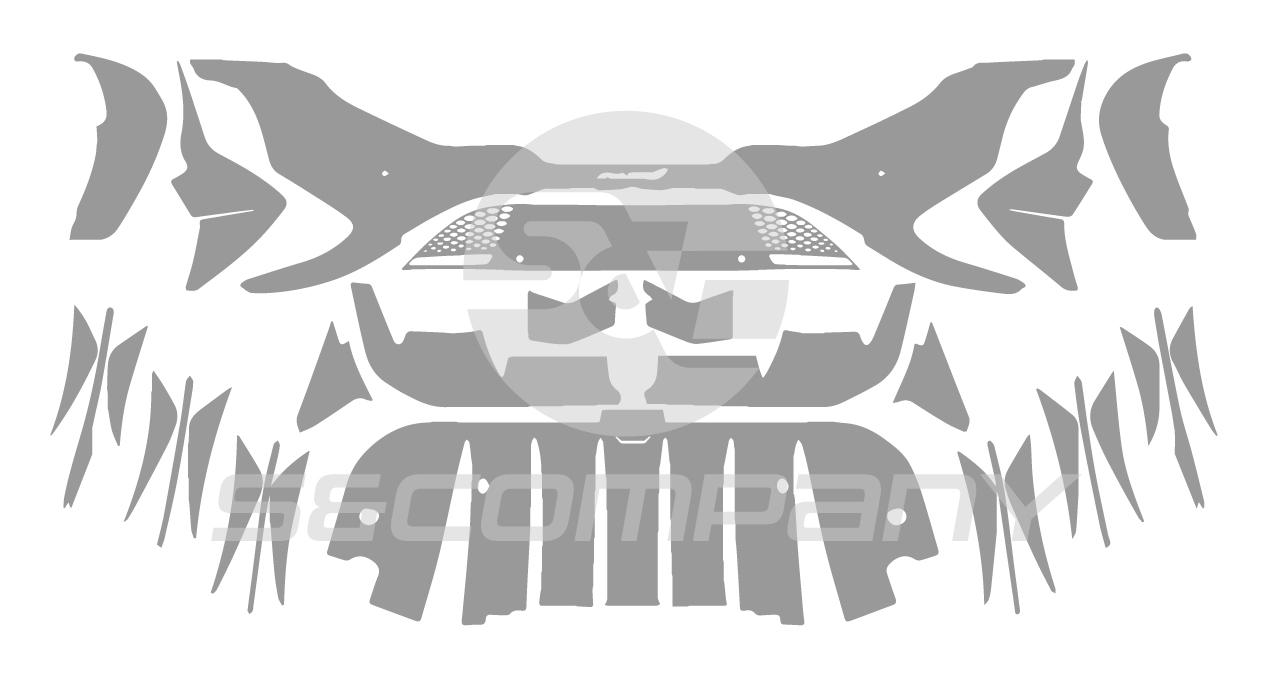 Rear Bumper(with Diffuser)