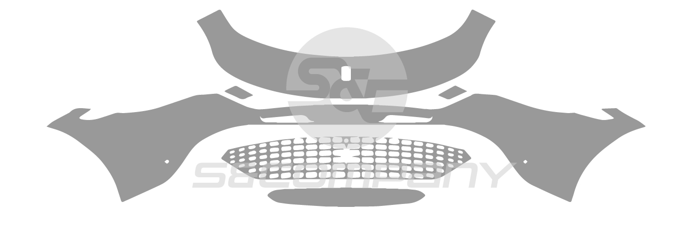 Front Bumper (without carbon package)