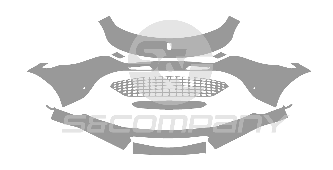 Front Bumper (with carbon package)