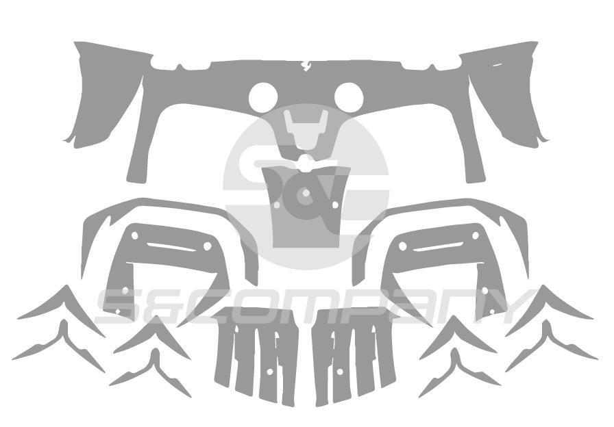 Rear Bumper (with Diffuser)
